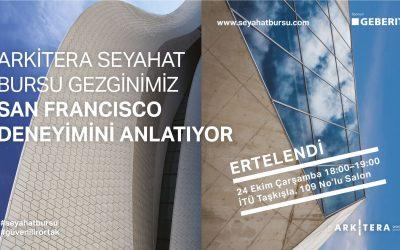Arkitera Seyahat Bursu İstanbul Sunumu