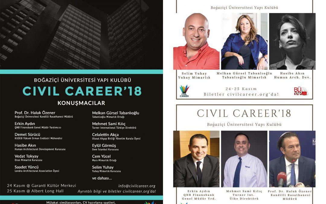 BÜYAP Civil Career '18 – BOUN
