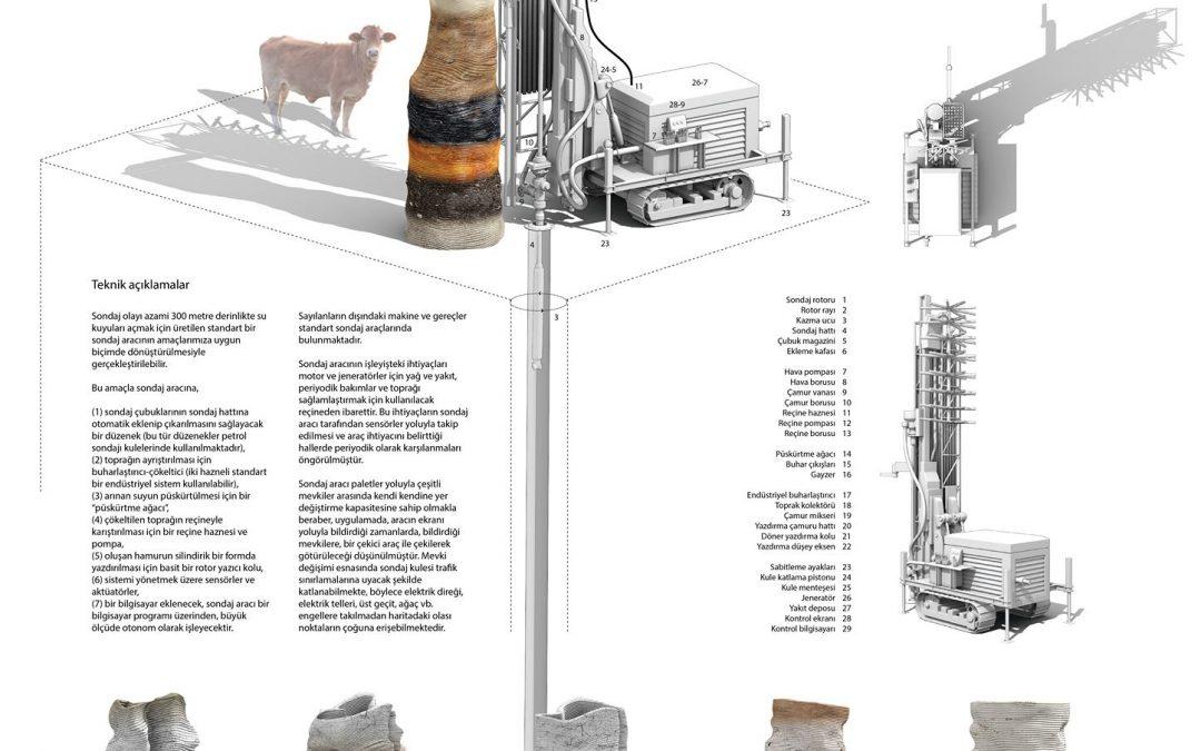 DEGİAD Yaşayan Pamukkale Ulusal Mimari Fikir Projesi Yarışması Sonuçlandı
